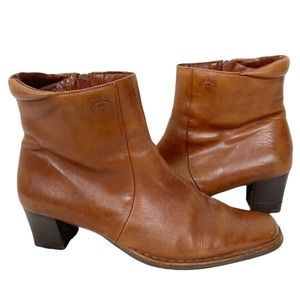 PIKOLINOS Soft Aged Brown Leather Western Boots 10